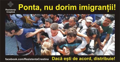 nu dorim imigrantii