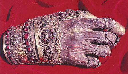 Mana Sfantului Ioan Gura de Aur - Manastirea Filoteu, Athos