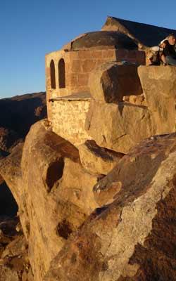 Muntele Sinai - Capela