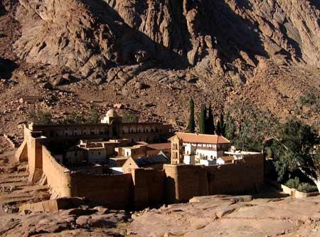 Manastirea Sfanta Ecaterina - Sinai