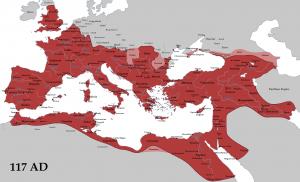 Imperiul Roman la moartea lui Traian