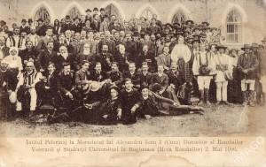 Pelerinaj la mormântul lui Cuza-Vodă în 1906