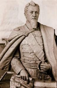 Tecuci-Bustul domnitorului Alexandru Ioan Cuza