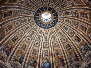 Bazilica sfantul petru roma cupola