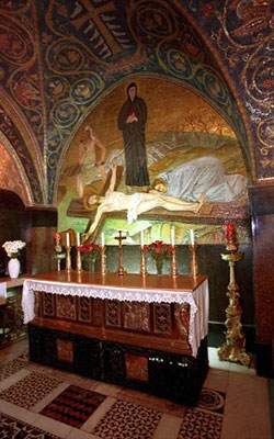 Drumul Crucii - Via Dolorosa - XI - Tintuirea in cuie, pe Sfanta Cruce