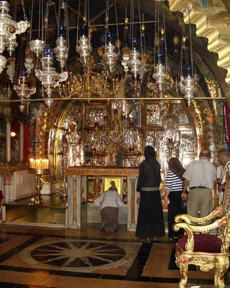 Drumul Crucii - Via Dolorosa - XII - Rastignirea si Moartea pe Cruce