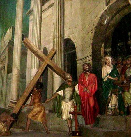 Drumul Crucii - Via Dolorosa - II - Judecarea lui Hristos in Pretoriu