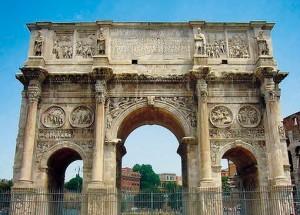 Daci pe Arcul de triumf al lui Constantin