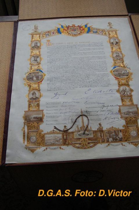 Actul proclamarii Regatului Romaniei