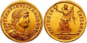 Solidus din vremea lui Constantin al II-lea