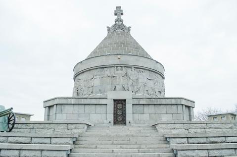 Mausoleul de la Mărășești, poate cel mai reprezentativ monument ridicat în cinstea eroilor români din Primul Război Mondial