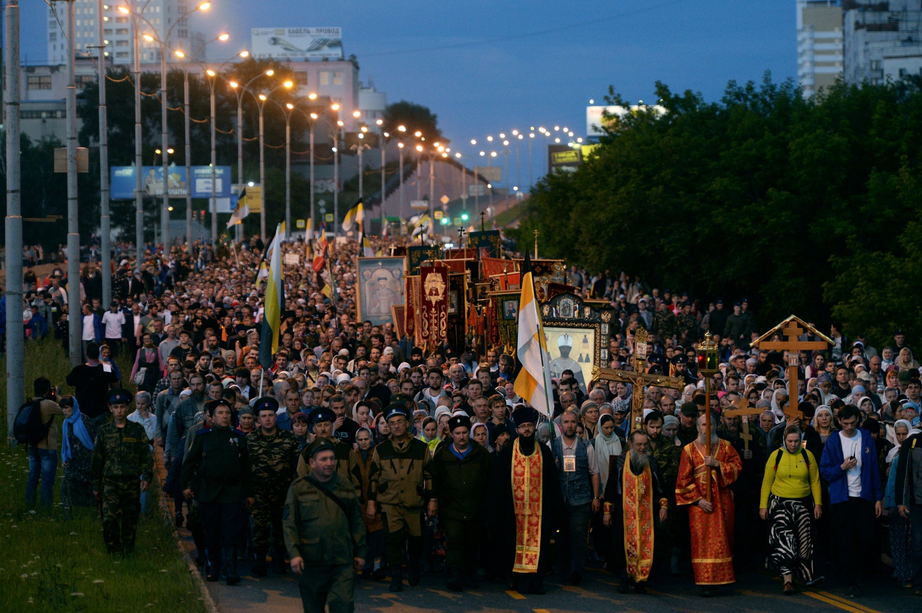 Drumul Crucii la Ekaterinburg