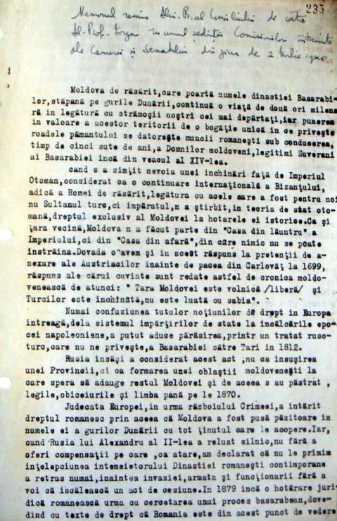Protestul lui Iorga si A C Cuza contra cedarii Basarabiei si Bucovinei - 2 iulie 1940 - 1